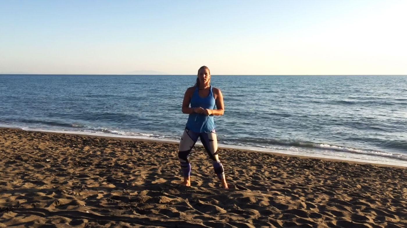 Celé tělo s odporovou gumou – Speciál od moře