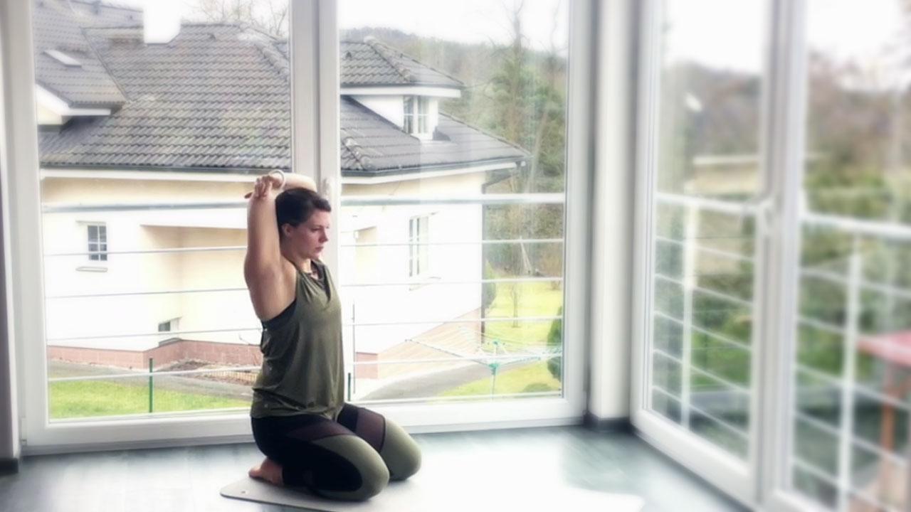 Protažení po cvičení